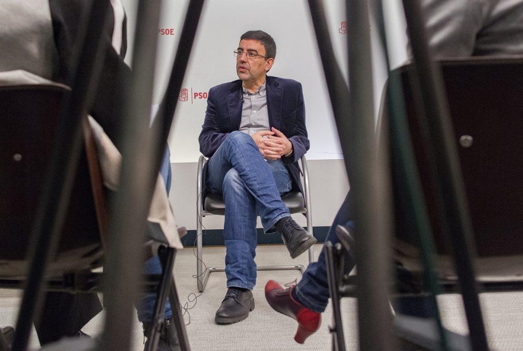 El PSOE no teme otras elecciones por no apoyar los presupuestos: «Rajoy sabrá lo que hace con el país»