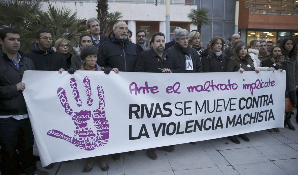 Cientos de personas claman en Rivas contra el asesinato de una de sus vecinas