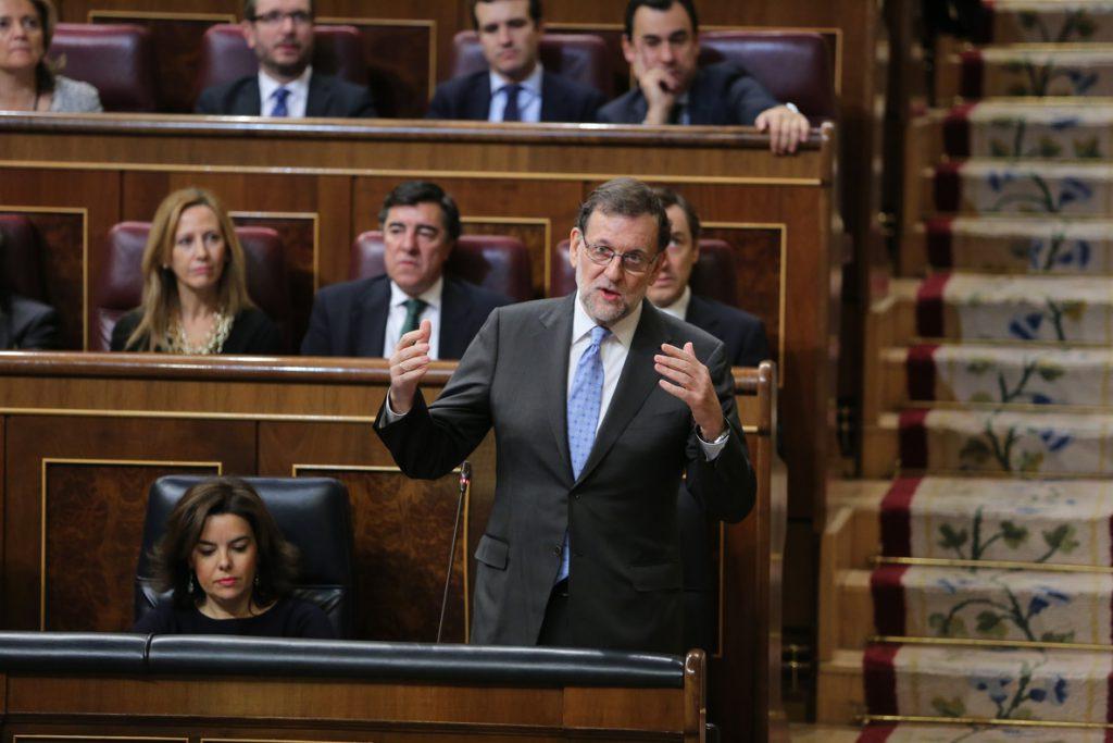 PSOE, Unidos Podemos y Ciudadanos harán bloque para exigir que Rajoy explique la financiación del PP en el Congreso