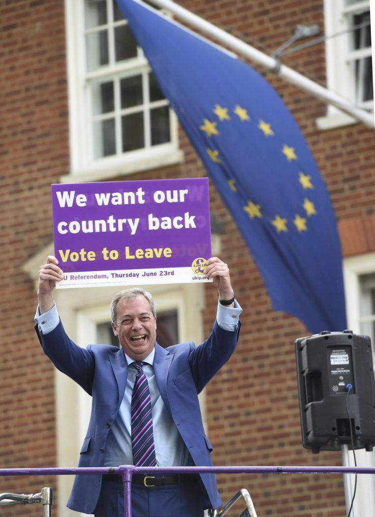Planes para llevar al cine la historia de la campaña a favor del «brexit»