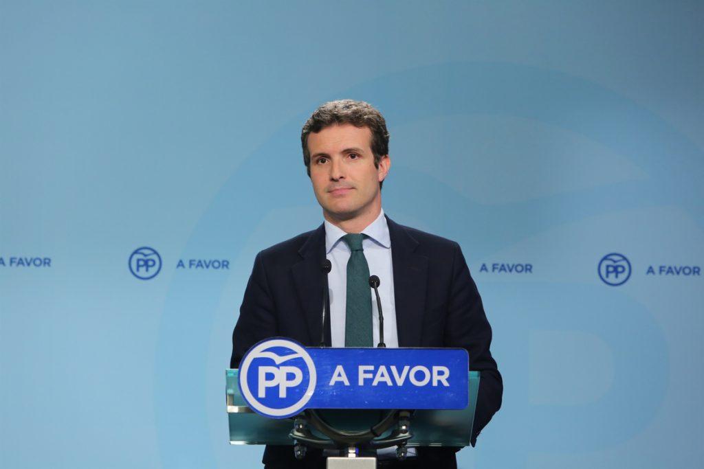 La ponencia coordinada por Casado reivindica la historia del PP y reclama que se acepte y se defienda