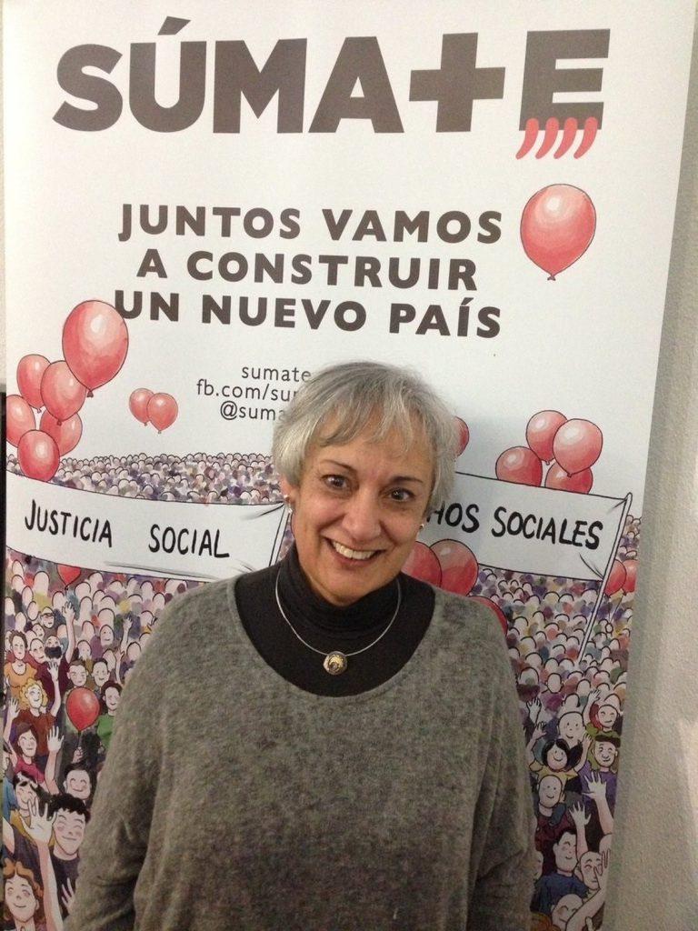 Montse Sánchez, nueva presidenta de la asociación soberanista Súmate