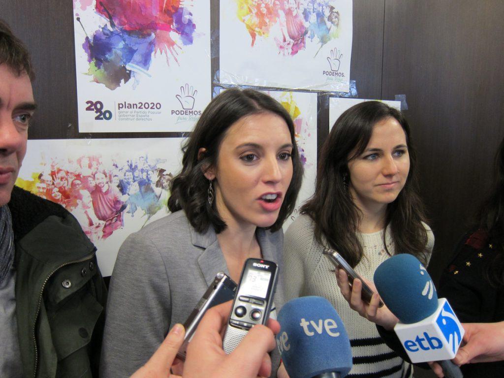 Irene Montero afirma que «sólo un Podemos que salga unido de Vistalegre va a ser capaz de ganar al PP»