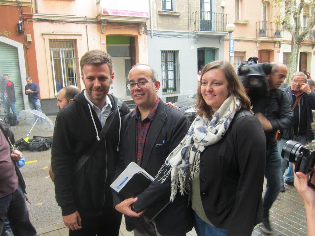 El concejal de Badalona Jose Téllez ve un aval a la libertad de expresión archivar la causa del 12-O