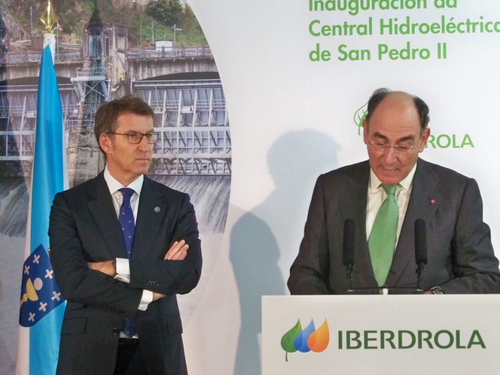Iberdrola inaugura la última fase del complejo hidroeléctrico más importante de Galicia
