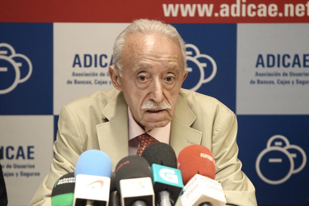 Adicae propone a los partidos un pacto de Estado para evitar abusos como el de las cláusulas suelo