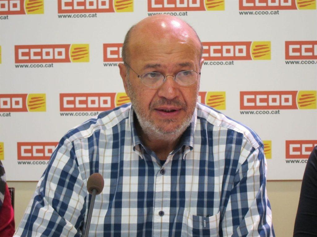 Gallego (CC.OO.) pide aclarar si el referéndum de Cataluña será pactado o unilateral