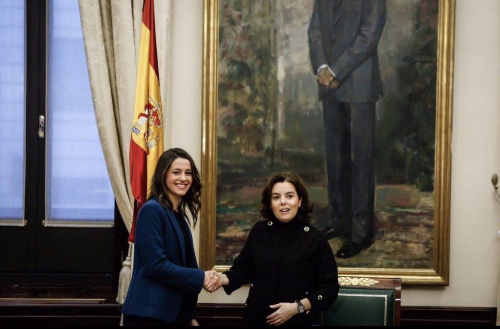 Gobierno y Ciudadanos colaborarán contra el referéndum catalán, con respuestas «proporcionales» a cada paso ilegal