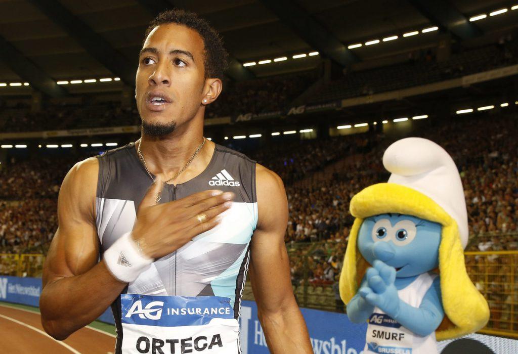 Orlando Ortega gana los 60 metros valla con récord de España y mejor marca mundial del año