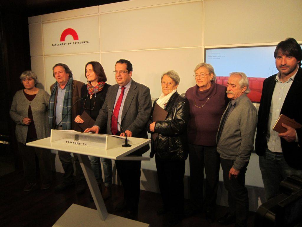 El Pacte pel Referèndum pedirá reunirse con el Gobierno central y eurodiputados