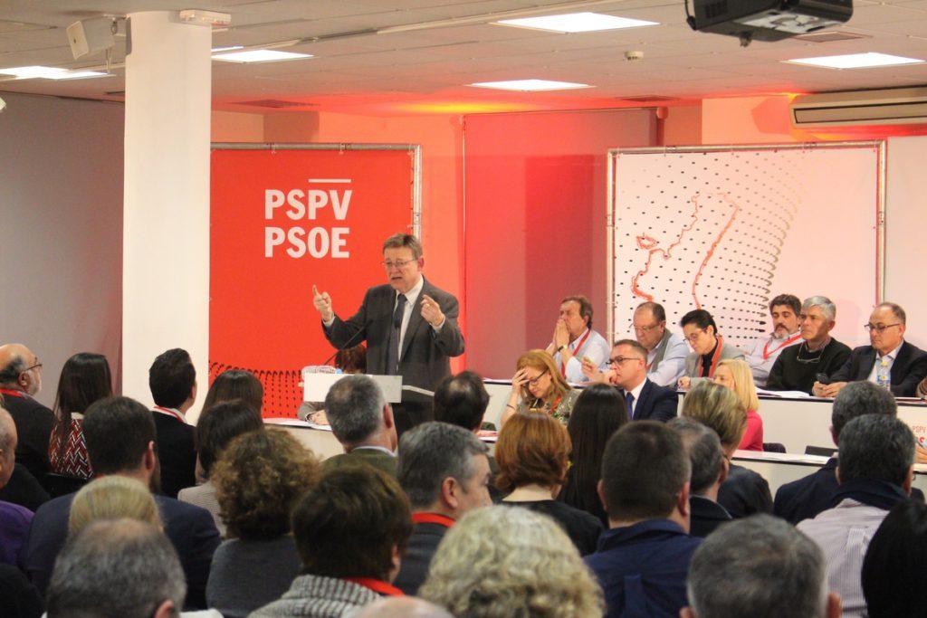 Puig pide al PSPV una «reflexión de puertas hacia dentro» para lograr una «agenda propia» dentro del socialismo español
