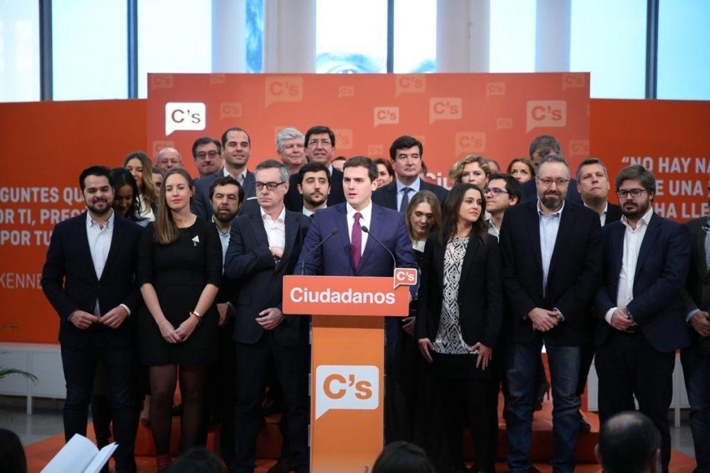 Ciudadanos abre mañana su congreso con el liderazgo de Rivera afianzado pero con el debate del ideario abierto