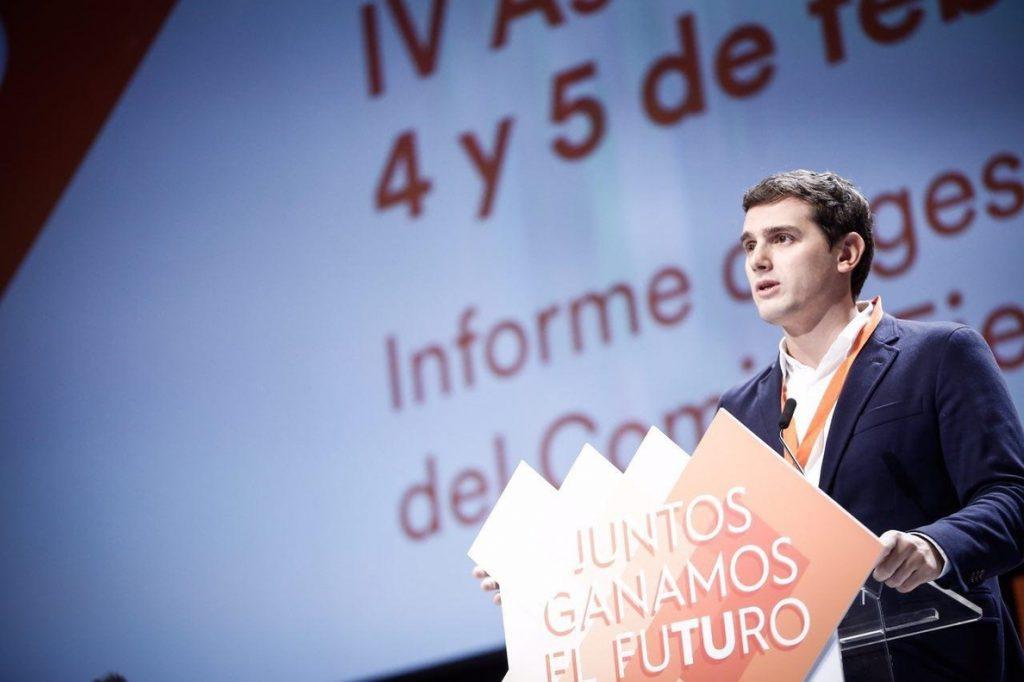 La Asamblea General de Ciudadanos rechaza las siete enmiendas a la totalidad en Estatutos, estrategia e ideario