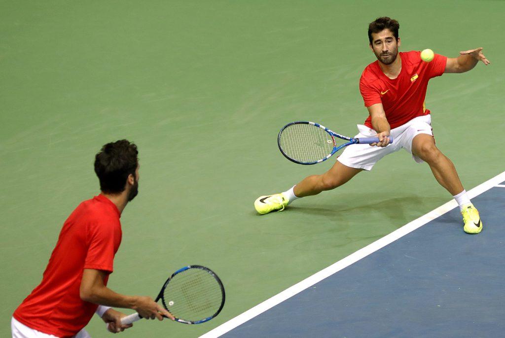 Croacia gana el dobles y deja a España a un paso de la eliminación