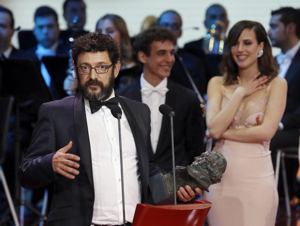 Manolo Solo, Goya al mejor actor de reparto por «Tarde para la ira»