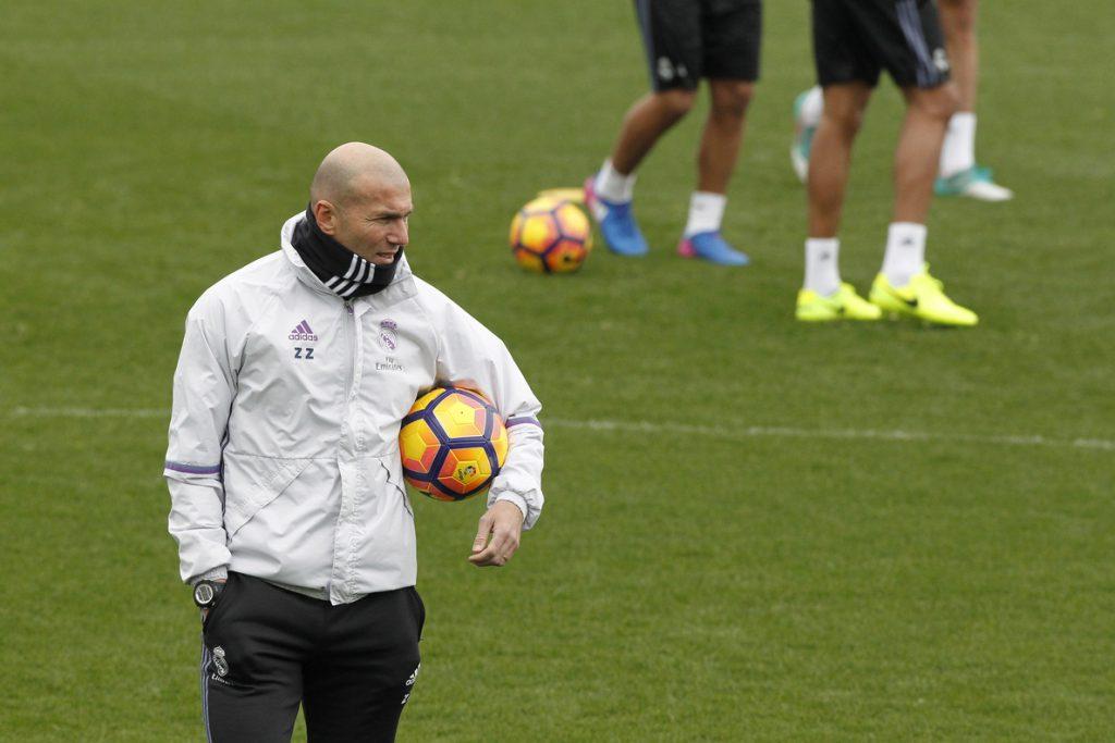 Zidane: «Que Morata quiera jugar más es bueno»