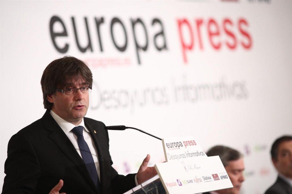Puigdemont reprocha al Estado su supuesto diálogo: «Nos merecíamos que no fuera sólo un anuncio»