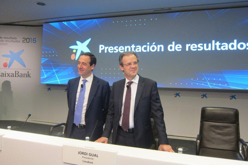 Criteria vende el 5,32% de CaixaBank por 1.068 millones de euros