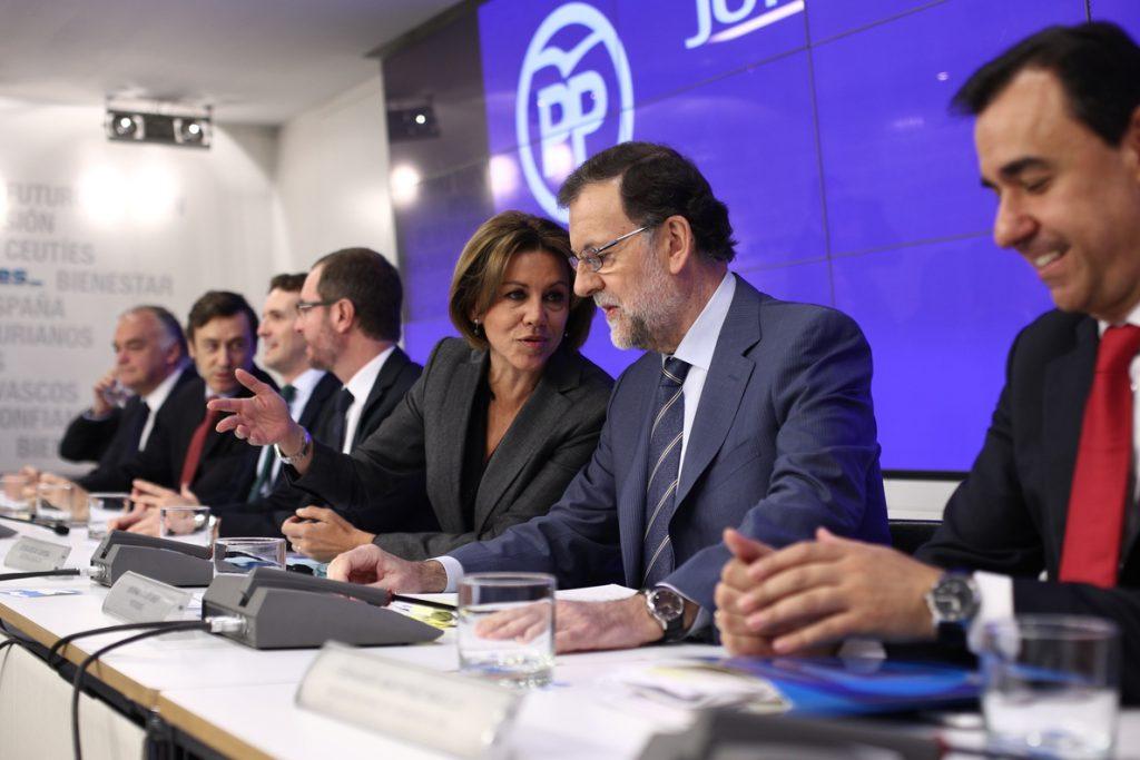 Cospedal, «tranquila» ante el congreso del PP, defiende que Rajoy tiene derecho a hacer su equipo