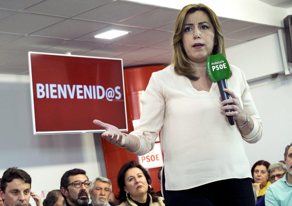 Díaz elogia el papel del PSOE en los «cien días de desgobierno de Rajoy»