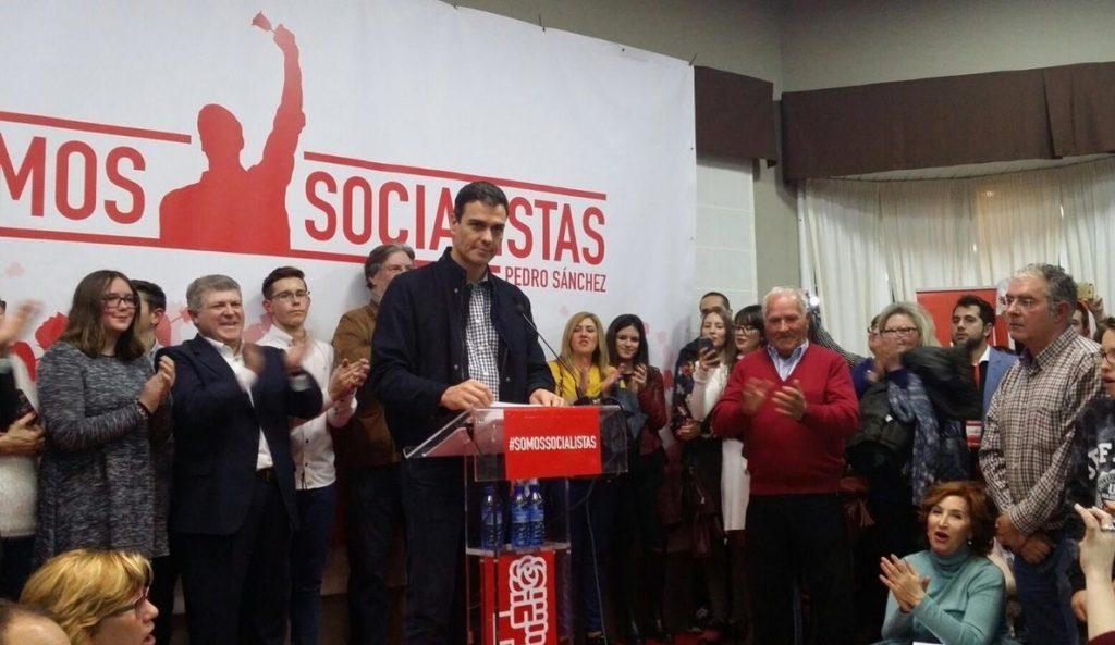Pedro Sánchez pide a la Gestora que no deje fuera de las primarias al PSC ni les haga a «rogar el voto»