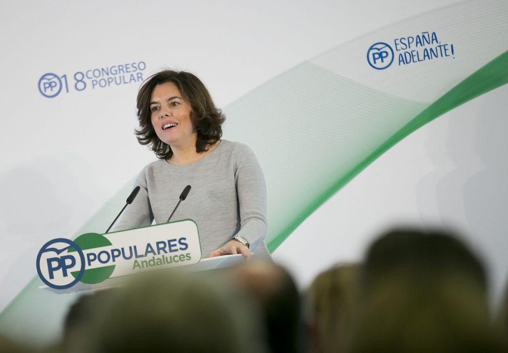 Santamaría pide a la Generalitat que «no intranquilice» a catalanes tras el anuncio de una auditoría de datos fiscales