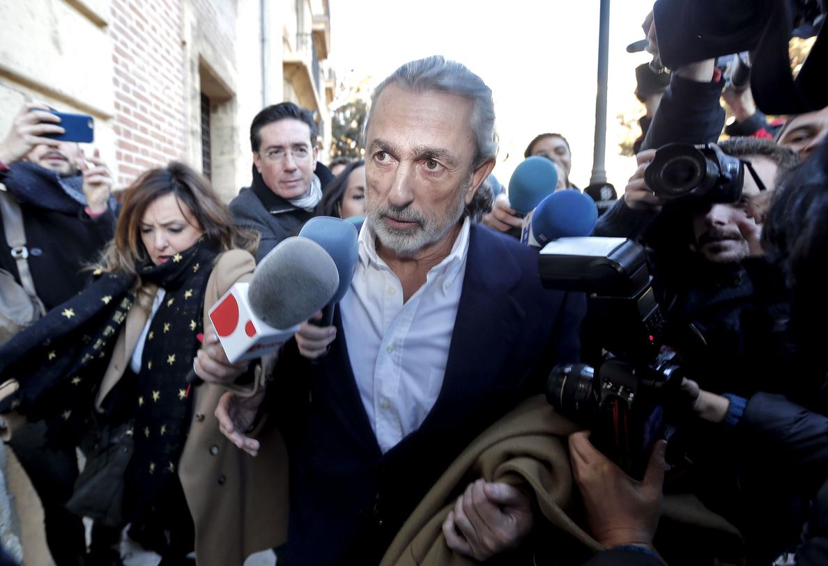 Anticorrupción pide el inmediato ingreso en prisión de Correa, Crespo y »El Bigotes» por amaños en Fitur
