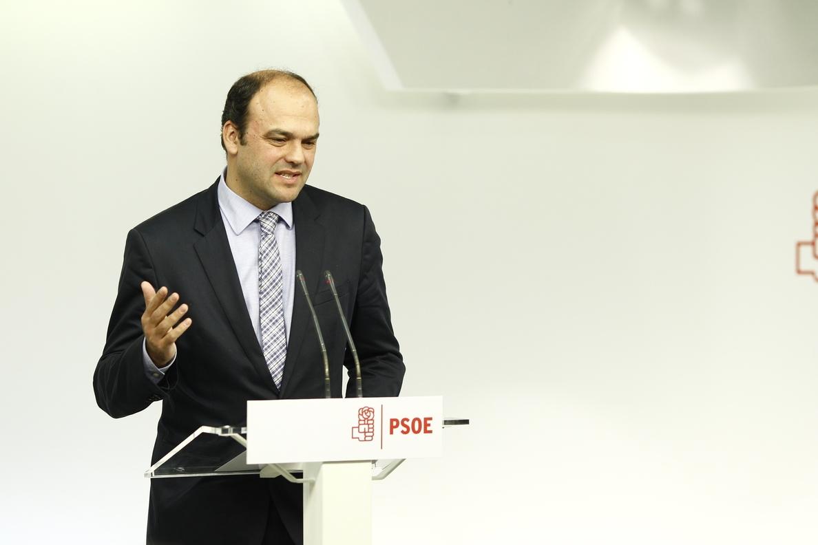 El encargado de la ponencia económica del PSOE ve «incomprensible» que el Gobierno no haya presentado aún los PGE