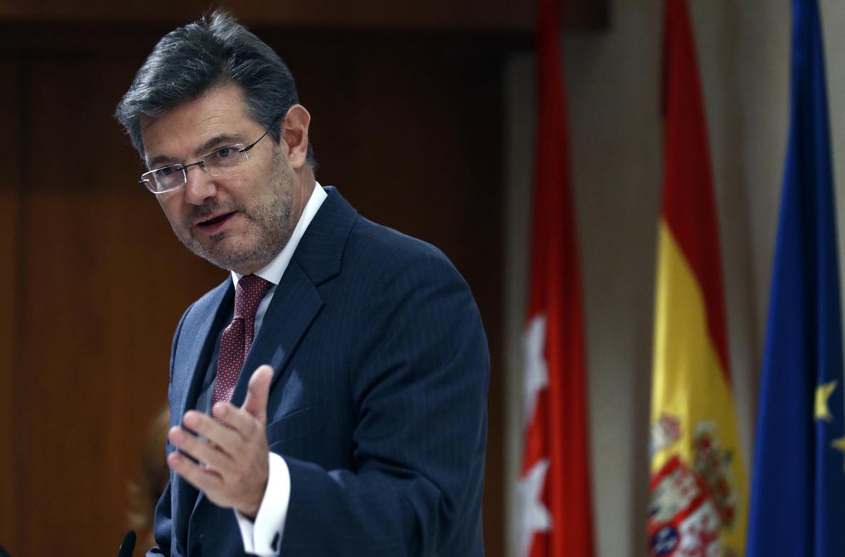 Catalá asegura que «nunca» y «en ningún caso» ha ordenado nada a la Fiscalía