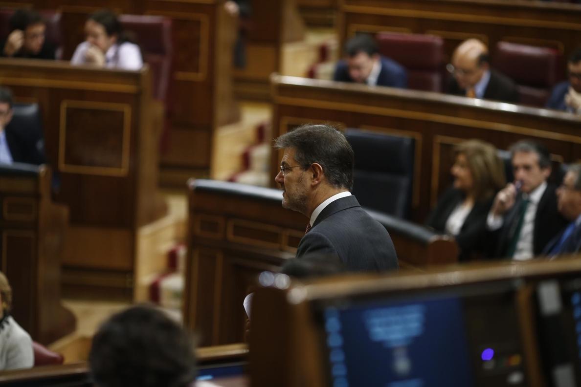 Catalá señala que el perdón a los funcionarios de Rota (Cádiz) es «un buen ejemplo» de cuándo el indulto «tiene sentido»