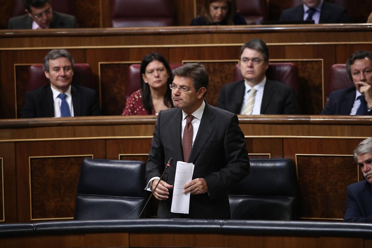 Catalá garantiza que los juzgados provinciales para cláusulas suelo contarán con los medios que necesiten