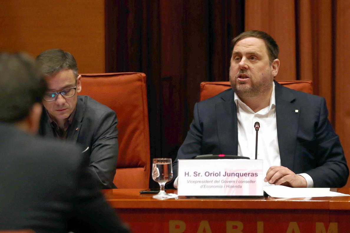 Junqueras desmiente afirmaciones de Vidal, pero admite «daño» hecho al Govern
