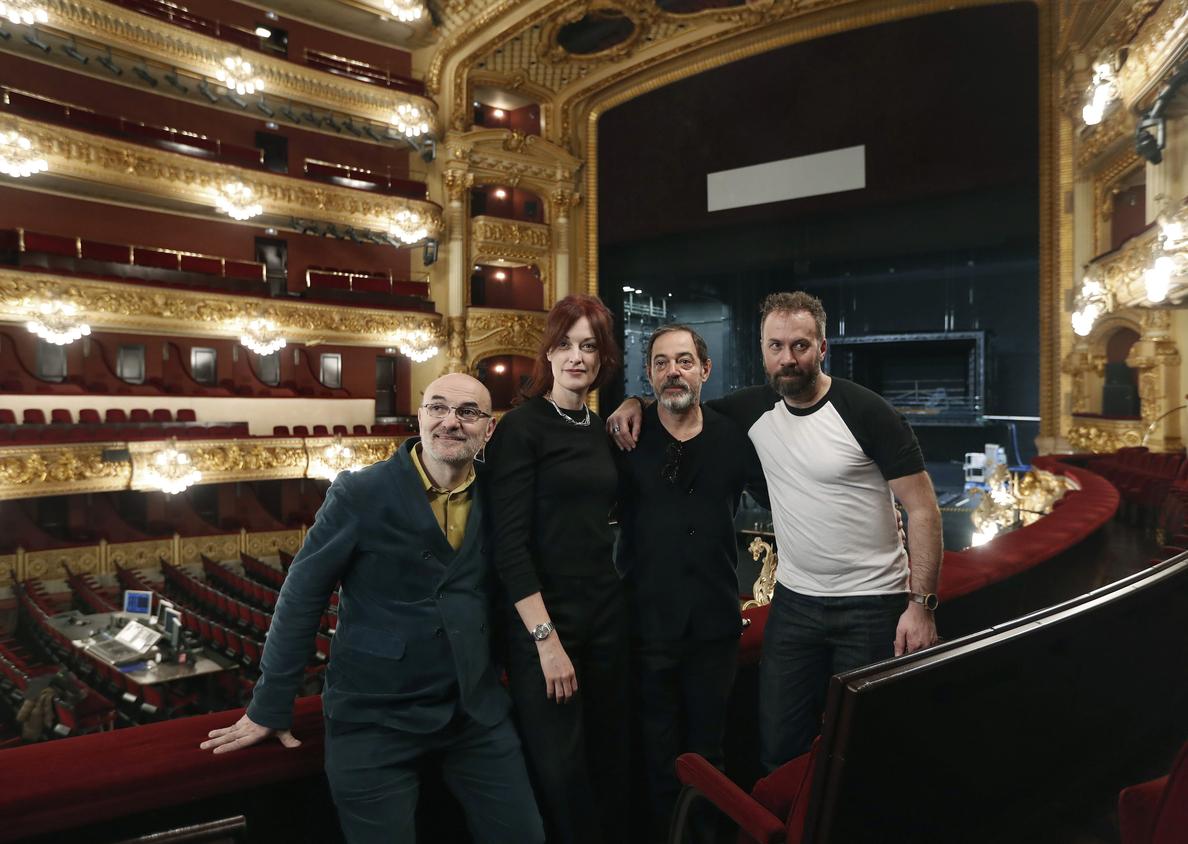 El Liceu estrena «Quartett», una ópera contemporánea con montaje de La Fura