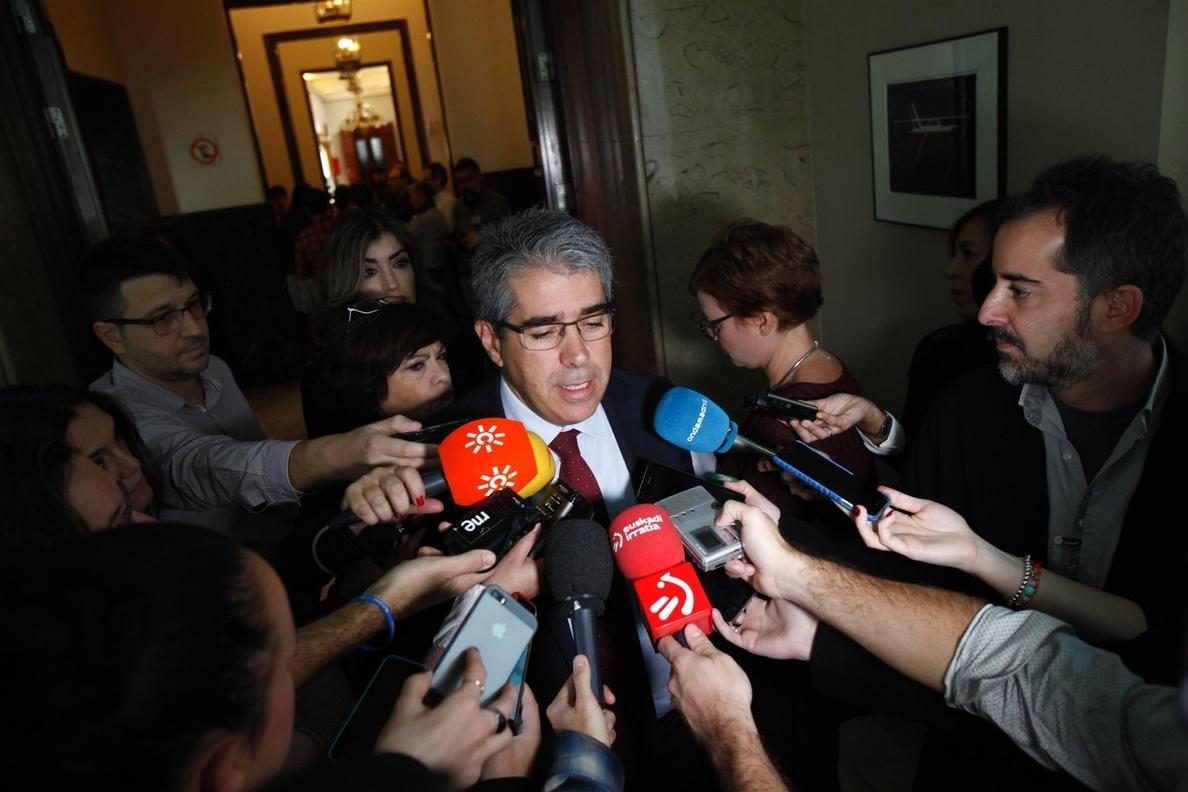 El PDeCAT pide la comparecencia de Moragas y Camacho en el Congreso por supuestas maniobras contra independentistas
