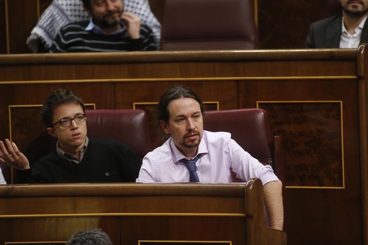 Pablo Iglesias exige «consecuencias» si el Gobierno utilizó a la Fiscalía en el caso del presidente de Murcia