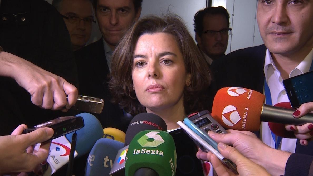 Santamaría afirma que el Ejecutivo garantiza la independencia del TC y el cumplimiento de sus resoluciones