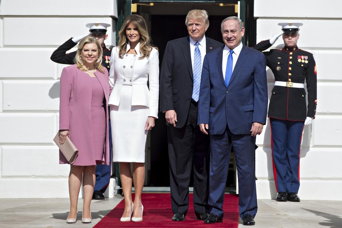 Trump dice que Israel debe frenar el avance de los asentamientos