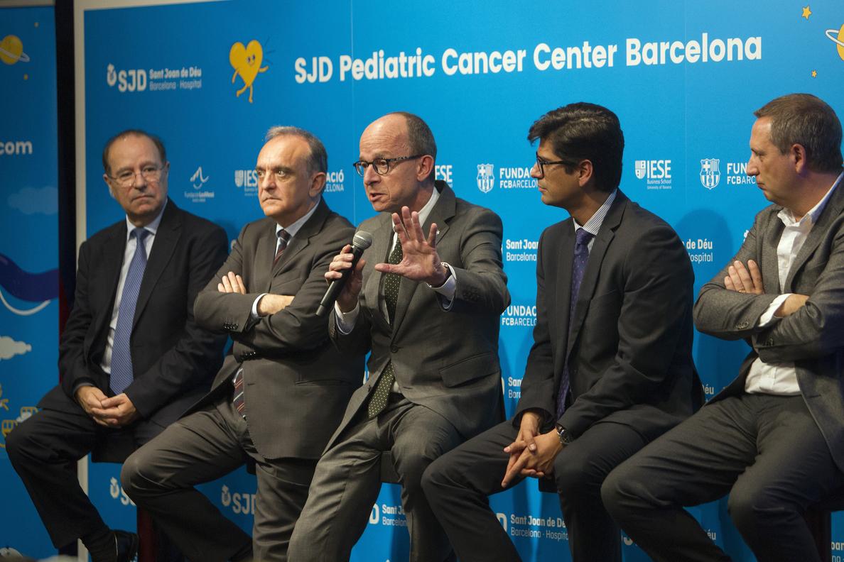 El centro infantil de cáncer de Barcelona atenderá a 400 pacientes cada año