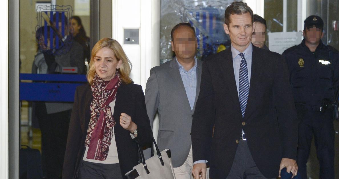 La Infanta y Urdangarín se enfrentan este viernes a la sentencia del Caso Nóos