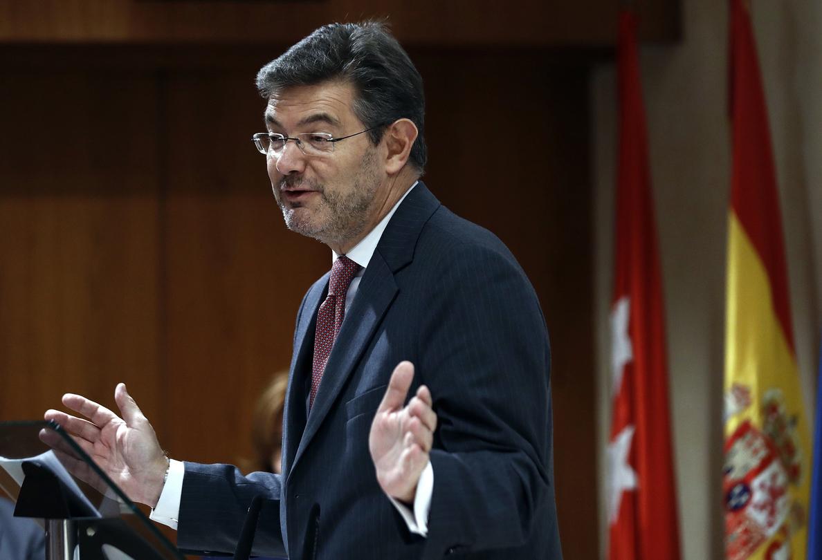 Catalá: el presidente de Murcia no debería dimitir por imputación caso Púnica