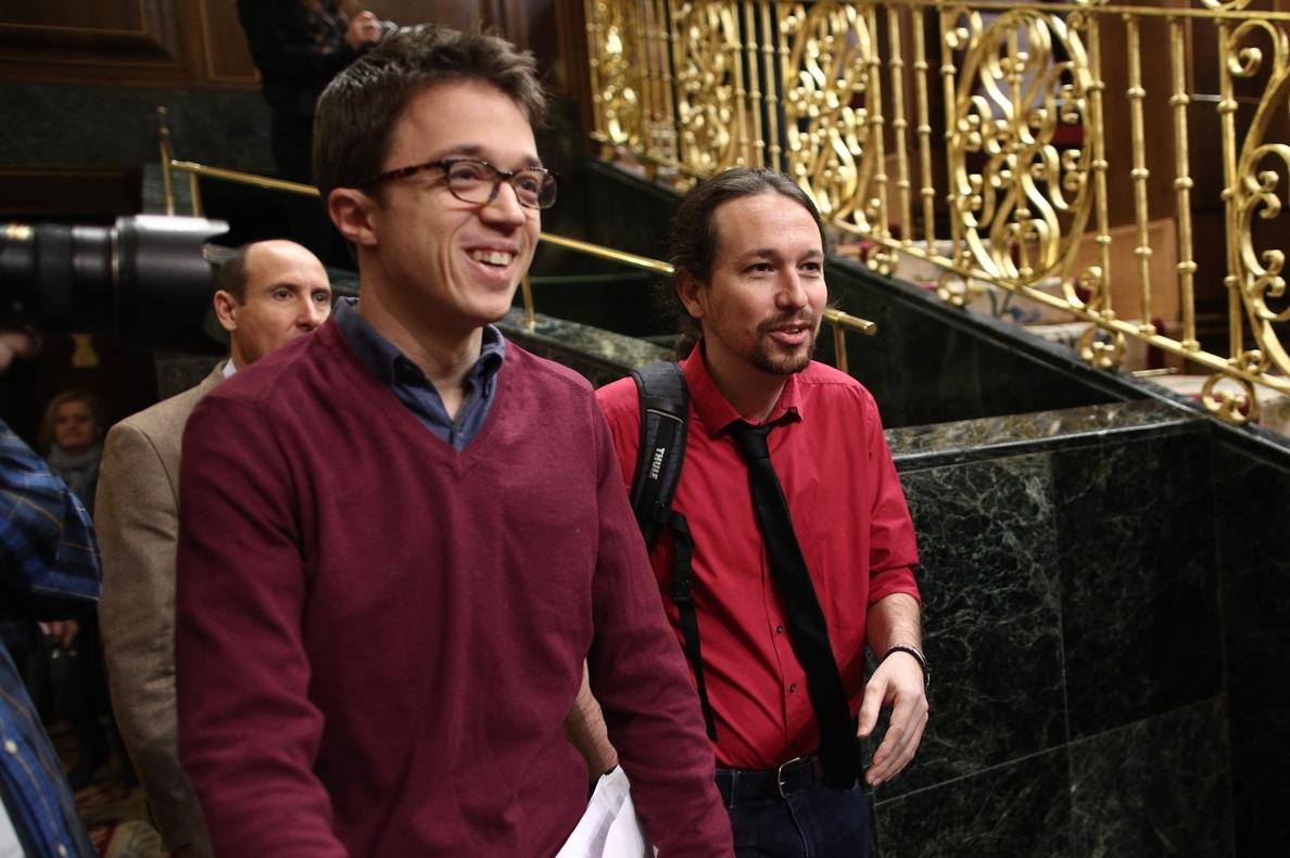 Errejón saca pecho del trabajo de Unidos Podemos en el Congreso para desbloquear dos comisiones de investigación