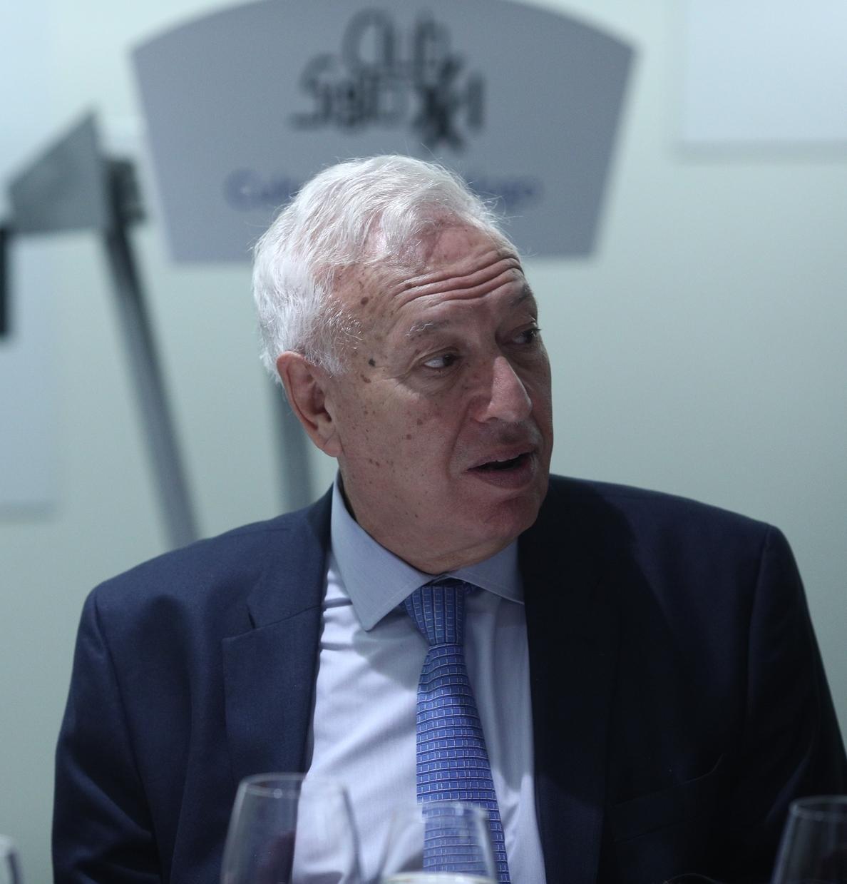 García Margallo recuerda que el Estado de Derecho «existe» y «funciona»