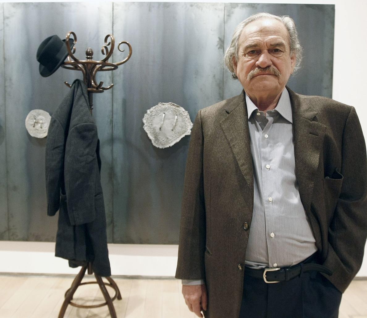 Muere el héroe del »arte povera», Jannis Kounellis