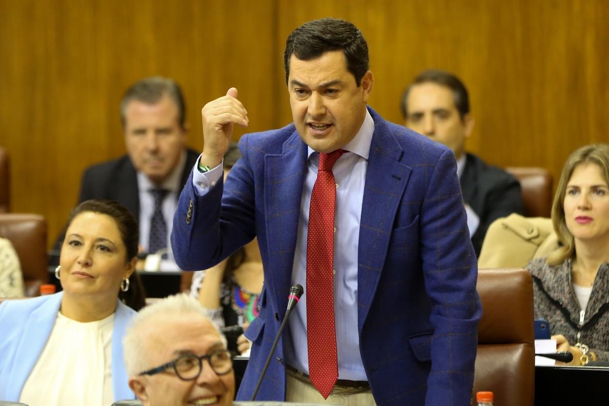 Vox retira su apoyo al Gobierno de Andalucía y pide a Moreno que implante el veto parental