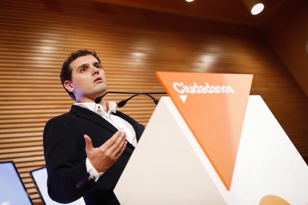 Rivera pide «transparencia» en la negociación del Convenio Económico y dice que su supresión «no es una prioridad»