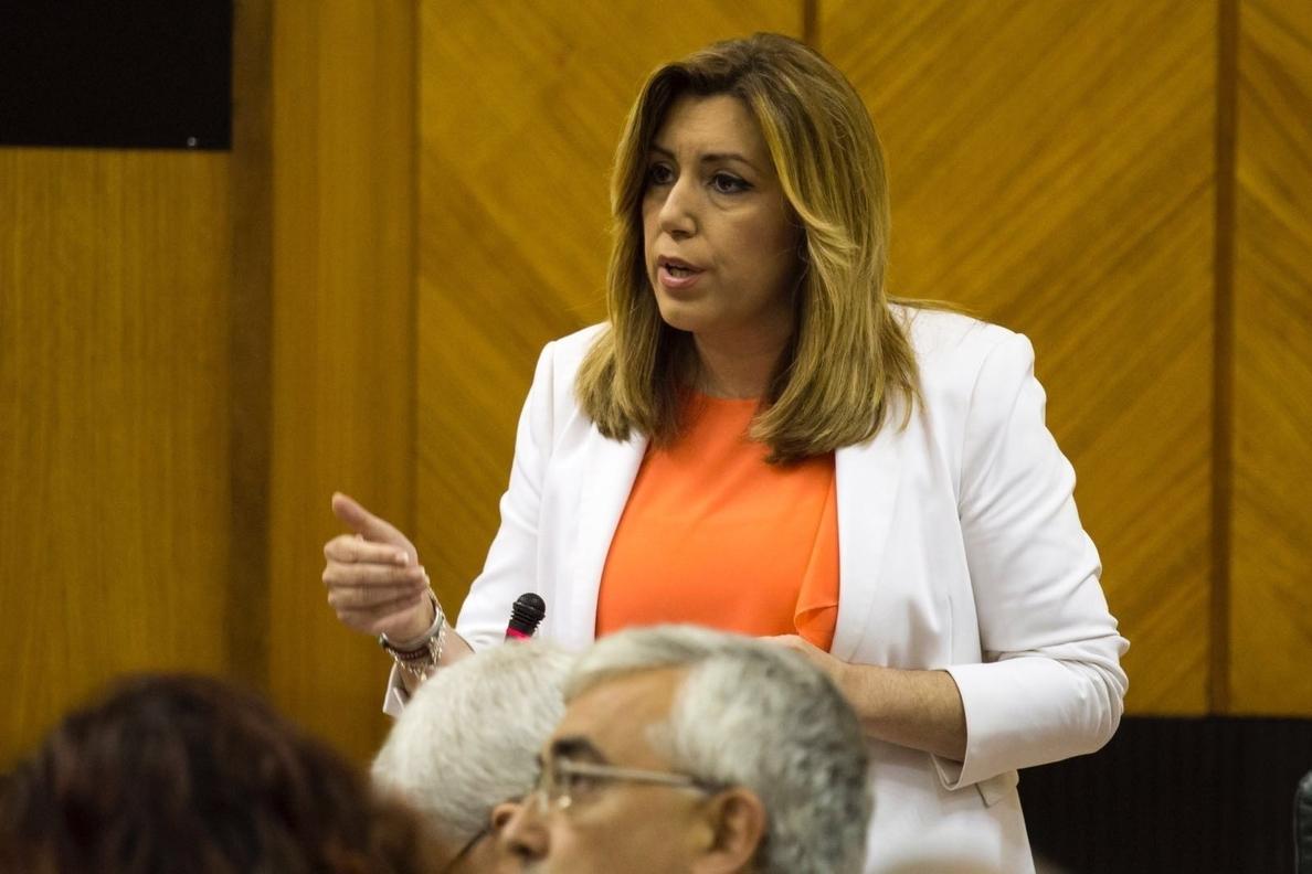 Susana Díaz propone un «tiempo nuevo» en el modelo territorial español tras la etapa de reformas estatutarias