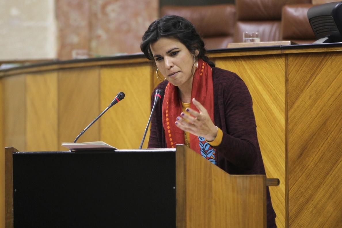 Teresa Rodríguez pide un «proceso constituyente» para construir una nación andaluza «sin frentismos»