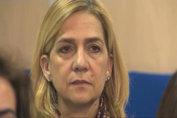 Urdangarin condenado a 6 años y 3 meses y la Infanta Cristina, absuelta y responsable civil por 265.000 euros