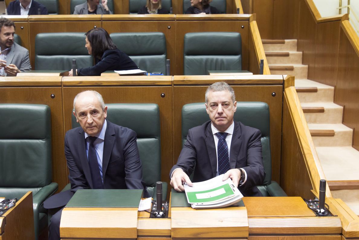 Urkullu recoge el ofrecimiento del PP a analizar los presupuestos vascos