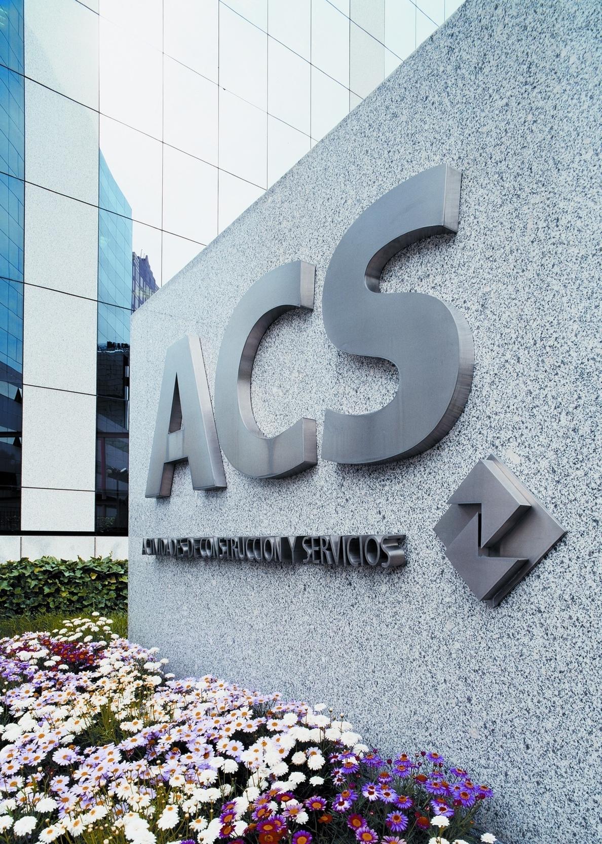 Las nuevas acciones que ACS emitió en el marco de su »scrip dividend» comienzan hoy a cotizar